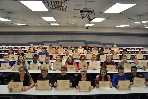 7th Grade Students of the Quarter
