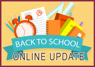 Back to School Online Update
