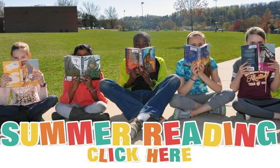 SUMMER READING CLICK HERE