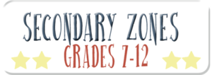 SECONDARY ZONES (GRADES 7-12)
