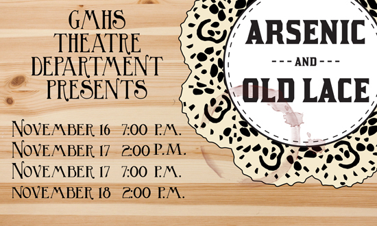 Arsenic and Old Lace Fall Play