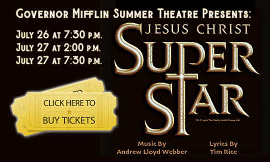 Buy tickets for Jesus Christ Super Star Summer Theatre Production
