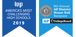 America's Most Challenging High Schools/AP Honor Roll recipient