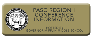 PASC REGION I CONFERENCE INFORMATION