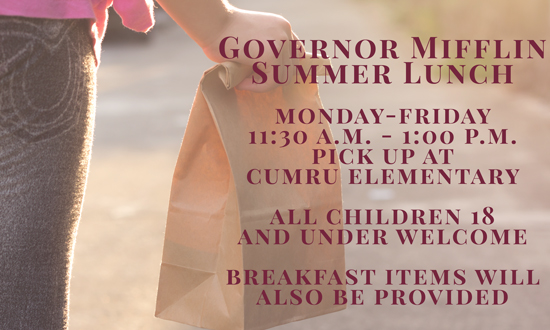 Governor Mifflin Summer Lunch